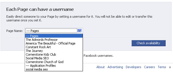 facebook-fan-page-custom-url-drop-down
