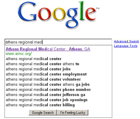 google-query-suggestion-search