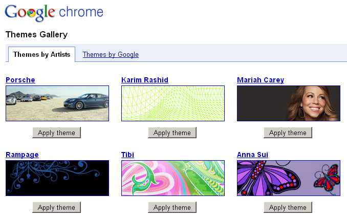 google-chrome-artists-themes