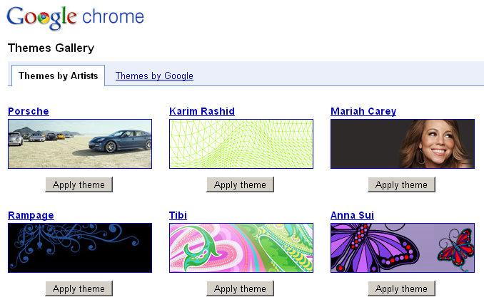 google-chrome-artists-themes