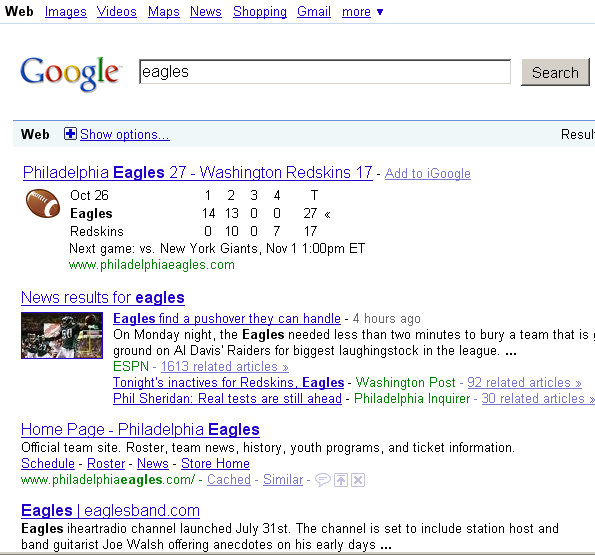 google-game-day-sports-search