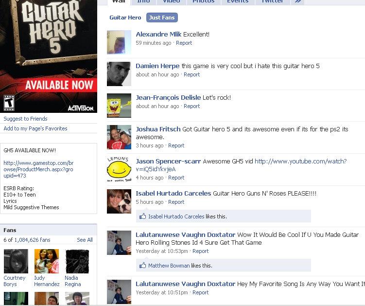 guitar-hero-facebook-fan-page-fans