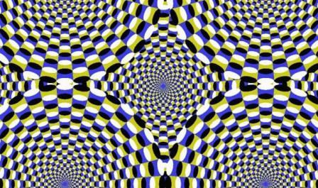 kaleidoscope optical illusion image