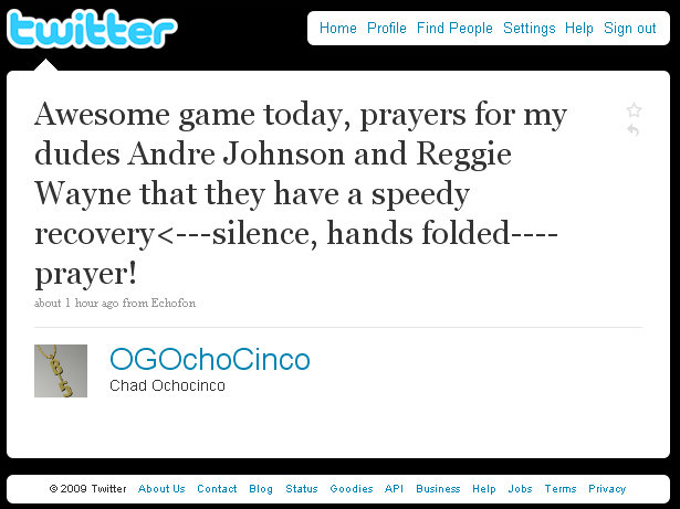 ocho-cinco-news-networking-first-update