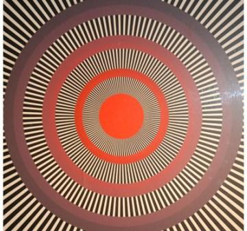 bullseye optical illusion image