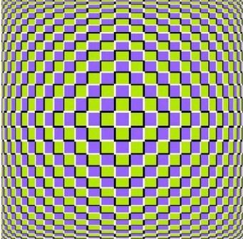 hypnosis optical illusion image