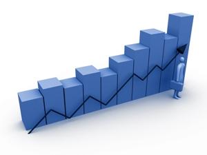 Business Growth Bar Chart