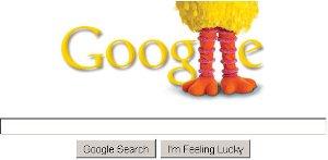 google-sesame-street-40th-anniversary-logo