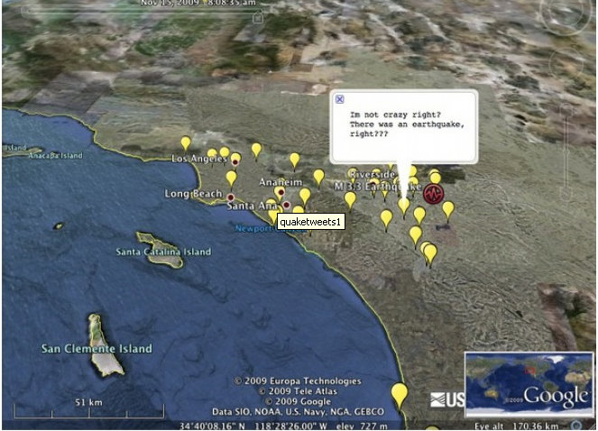 earthquake-on-a-map