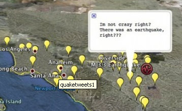 earthquake-tweets