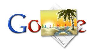 happy holidays google logo