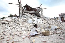 15 day old baby found haiti