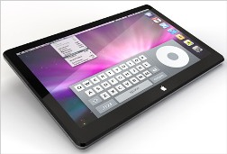 apple tablet device