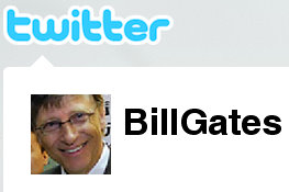 bill gates twitter profile pic