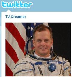 breakfast menue tweeted from outerspace