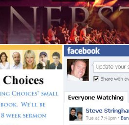 church facebook fan page live bible study