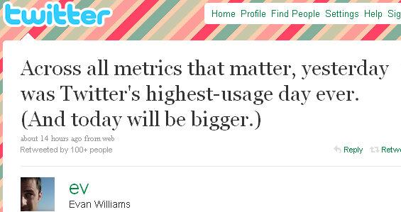 evan williams twitter tweet
