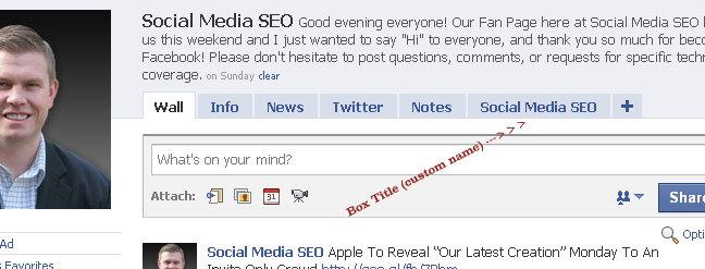 fbml facebook fan page 1