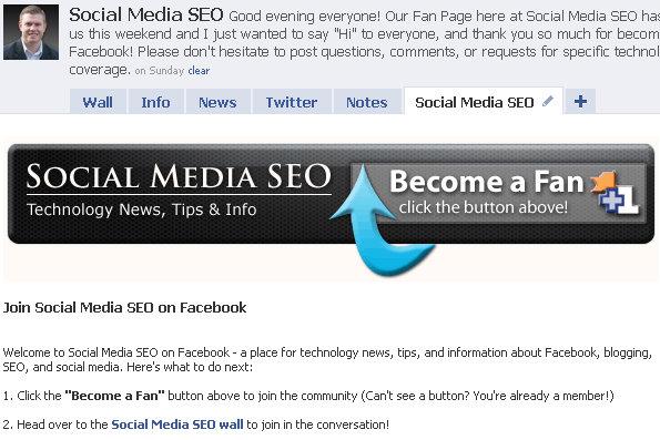 fbml facebook fan page 2