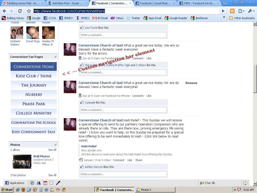 fbml facebook fan page 5