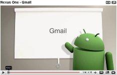 gmail nexus one google phone