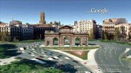 google sketchup city of madrid