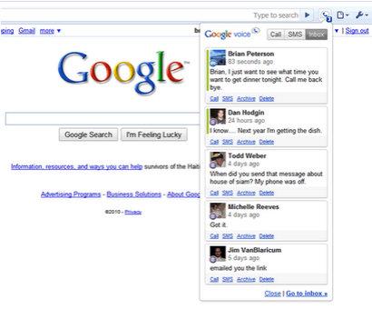 google voice extension 2