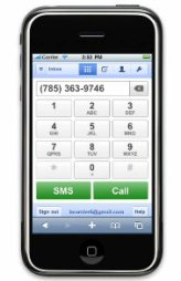 google voice mobile web app iphone app