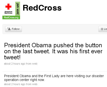 president barack obama tweet