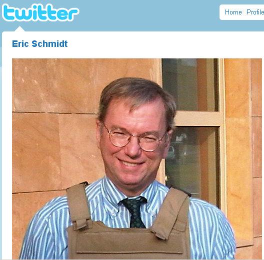 eric schmidt twitter profile picture