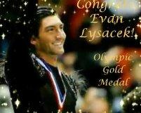 evan lysacek gold medal video
