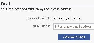 facebook login email 3