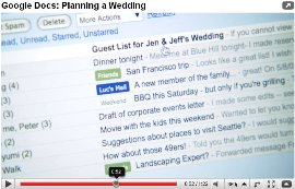 google docs wedding planning