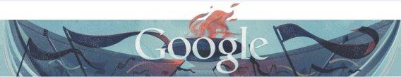 google olympic logo closing ceremony