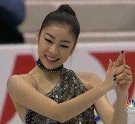 kim yu na gold medal performance