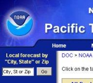 pacific tsunami center
