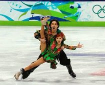 wild wacky ice skating costumes 2010 olympics 1