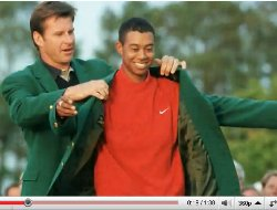 2010 masters golf tournament tiger woods