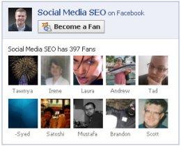 add facebook fan box to wordpress