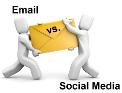 email vs facebook fan pages