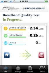 iphone broadband test