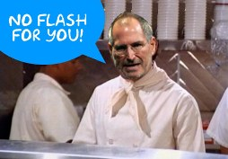 no flash ipad