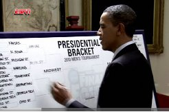 obama bracket predictions