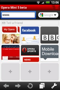 download opera mini 5 beta for android