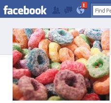 qr barcode facebook fan page fruit loops