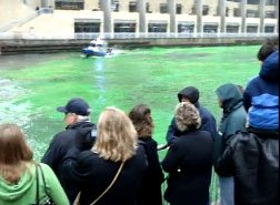 st patricks day chicago green river
