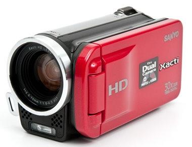 sanyo xacti high definition sdhc camcorder