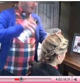 boho braids how to video