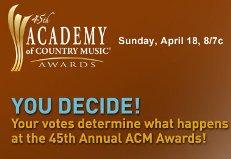 cbs com vote acm 2010 awards