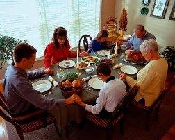 easter dinner prayer